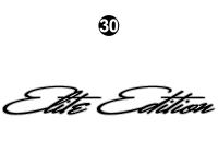 North Trail - 2014 North Trail Elite Edition TT-Travel Trailer - Side / Rear Elite Edition Logo