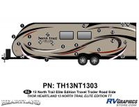 North Trail - 2013 North Trail Elite Edition TT-Travel Trailer - 20 Piece 2013 North Trail Elite Edition TT Roadside Graphics Kit