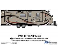 North Trail - 2014 North Trail Elite Edition TT-Travel Trailer - 22 piece 2014 North Trail Elite Edition TT Roadside Graphics Kit