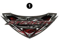 Stealth - 2017 Stealth TT-Lg Travel Trailer - Stealth TT Front Shield