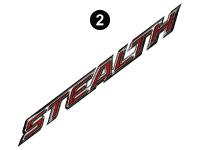 Stealth - 2018 Stealth FW-Fifth Wheel Gray Glass - Rear Stealth Legend