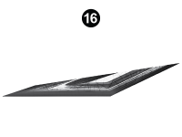 Stealth - 2018 Stealth FW-Fifth Wheel Gray Glass - Side Die Cut #6