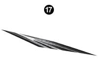 Stealth - 2018 Stealth FW-Fifth Wheel Gray Glass - Side Die Cut #7