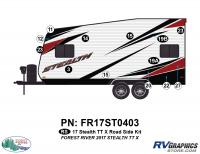 13 Piece 2017 Stealth TT-Sm X Roadside Graphics Kit