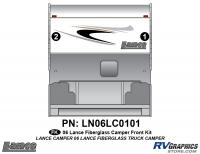 Lance - 2006 to 2009 Lance Camper - 2 Piece 2006 Lance Camper Front Graphics Kit