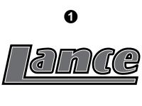 Lance - 2006 to 2009 Lance Camper - Lance Logo