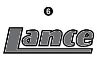 Lance - 2006 to 2009 Lance Camper - Front Lance Logo
