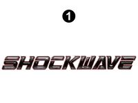 Front/Rear Shockwave logo