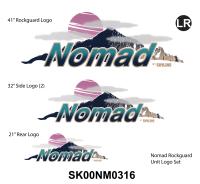 2000-2002 Nomad TT Rockguard Front Logo Graphics Kit