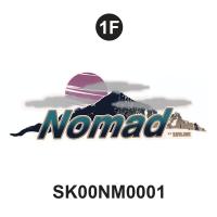 Nomad - 2000 Nomad TT-Flat Cap Front - Front Nomad Logo