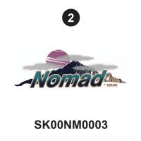 Rear  Nomad logo
