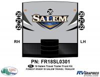 Salem - 2018 Salem TT-Travel Trailer - 7 Piece 2018 Salem TT Front Graphics Quote