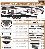 5 piece 2013 Fuzn TE Graphics Qt - Image 2