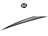 Fwd Mid Spear A-Roadside/ Left Side / Driver Side