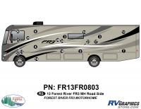 19 Piece 2013 FR3 MH Roadside Graphics Kit
