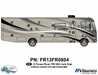 19 Piece 2013 FR3 MH Curbside Graphics Kit