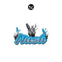 Nash - 2001 Nash Travel Trailer-Metal Walls - Front Nash Rockguard Logo-Cut to shape