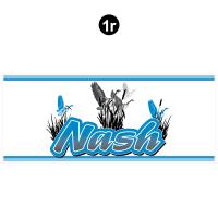 Nash - 2001 Nash Travel Trailer-Metal Walls - Front Nash Rockguard Logo Complete Cover
