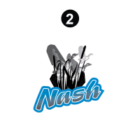 Nash - 2001 Nash Travel Trailer-Metal Walls - Side / Rear Nash Logo