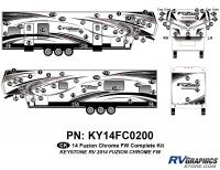 2014 Fuzion Chrome FW Complete Graphics Kit