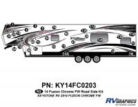 2014 Fuzion Chrome FW Roadside Graphics Kit