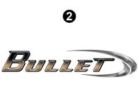 Bullet - 2010 Bullet TT-Travel Trailer - Small Bullet Logo