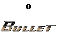 Bullet - 2010 Bullet TT-Travel Trailer - Large Bullet Logo