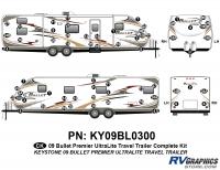 Bullet - 2009 Bullet TT-Travel Trailer - 63 Piece 2009 Bullet TT Complete Graphics Kit
