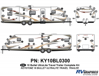 62 Piece 2010 Bullet TT Complete Graphics Kit