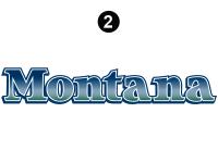 Side/Rear Montana Logo