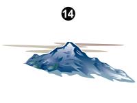 Side Rear Mountain/Cloud 1