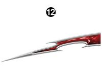 Raptor - 2009 Raptor Velocity FW-Fifth Wheel - Rear Upper Accent Spike