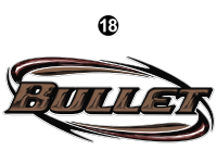Front Cap Bullet Logo Shield