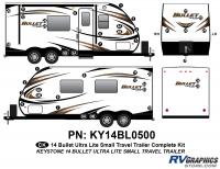 Bullet - 2014-2015 Bullet Sm TT-Small Travel Trailer - 41 piece 2014 Bullet Med Travel Trailer Complete Graphics Kit