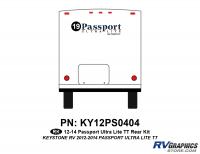 23 Piece 2012 Passport UltraLite Curbside Graphics Kit