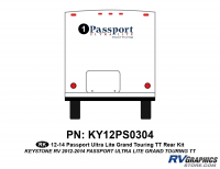 23 Piece 2012 Passport Grand Tour Curbside Graphics Kit