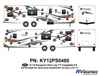 49 Piece 2012 Passport UltraLite Complete Graphics Kit