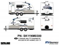 2011 Skyline Nomad Joey TT Complete Graphics Kit
