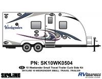 9 Piece 2010 Weekender Sm TT  Curbside Graphics Kit