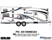 13 Piece 2010 Nomad Lg TT Curbside Graphics Kit
