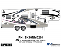 13 Piece 2010 Nomad FW Curbside Graphics Kit