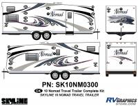 32 Piece 2010 Nomad Lg TT Complete Graphics Kit