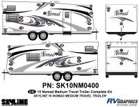 32 Piece 2010 Nomad Med TT Complete Graphics Kit