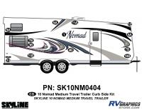 13 Piece 2010 Nomad Med TT Curbside Graphics Kit