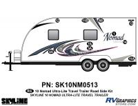 10 Piece 2010 Nomad Ultralite TT Roadside Graphics Kit