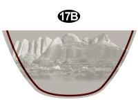 Front Laredo Badge Bottom