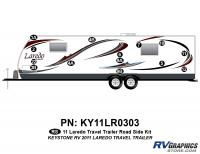 17 Piece 2011 Laredo TT Roadside Graphics Kit