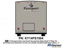16 Piece 2014 Passport Lg TT Curbside Graphics Kit