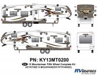 53 Piece 2013 Mountaineer FW Complete Graphics Kit