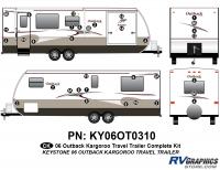 30 Piece 2006 Outback Kargaroo  TT Complete Graphics Kit